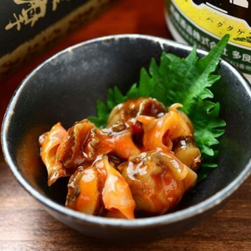 Spicy Top Shell with Sour Plum
